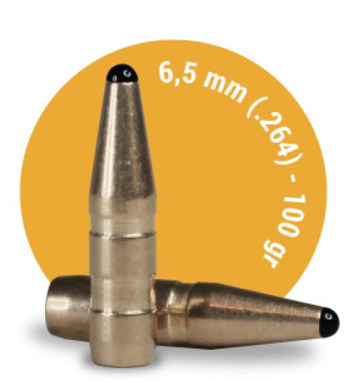 6,5mm 100gr.