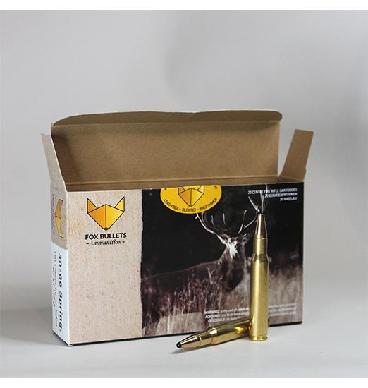 Fox Bullets Ammunition_Balistic data_308win