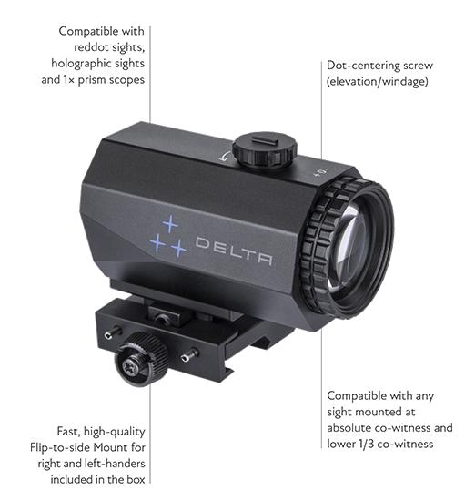 hornet magnifier 3x