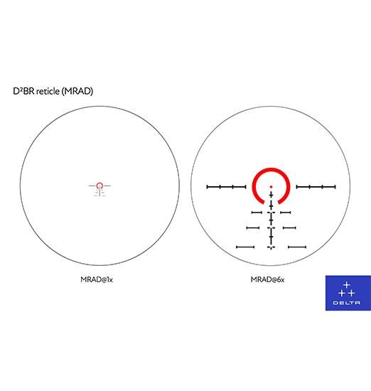 D2MR HORNET 1-6X24